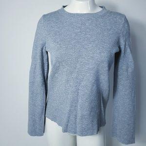 Madewell Sweater Long Sleeves Ribbon Back XS